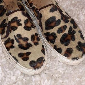 KMB (Steve madden style) Cheetah Slip ons